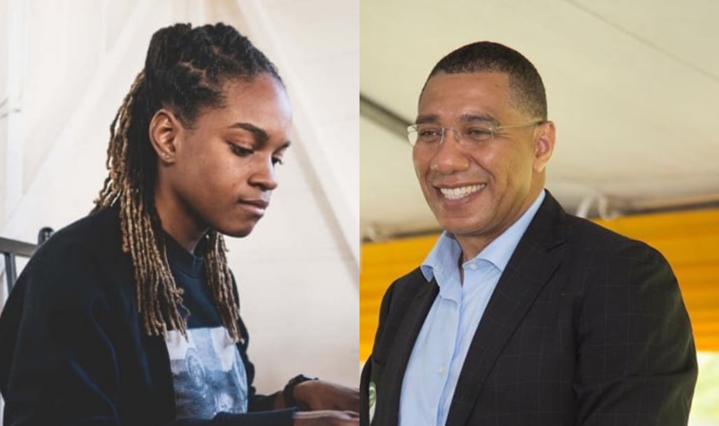 Koffee Gets Youth Award For Excellence From Jamaica's Prime Minister Andrew Holness