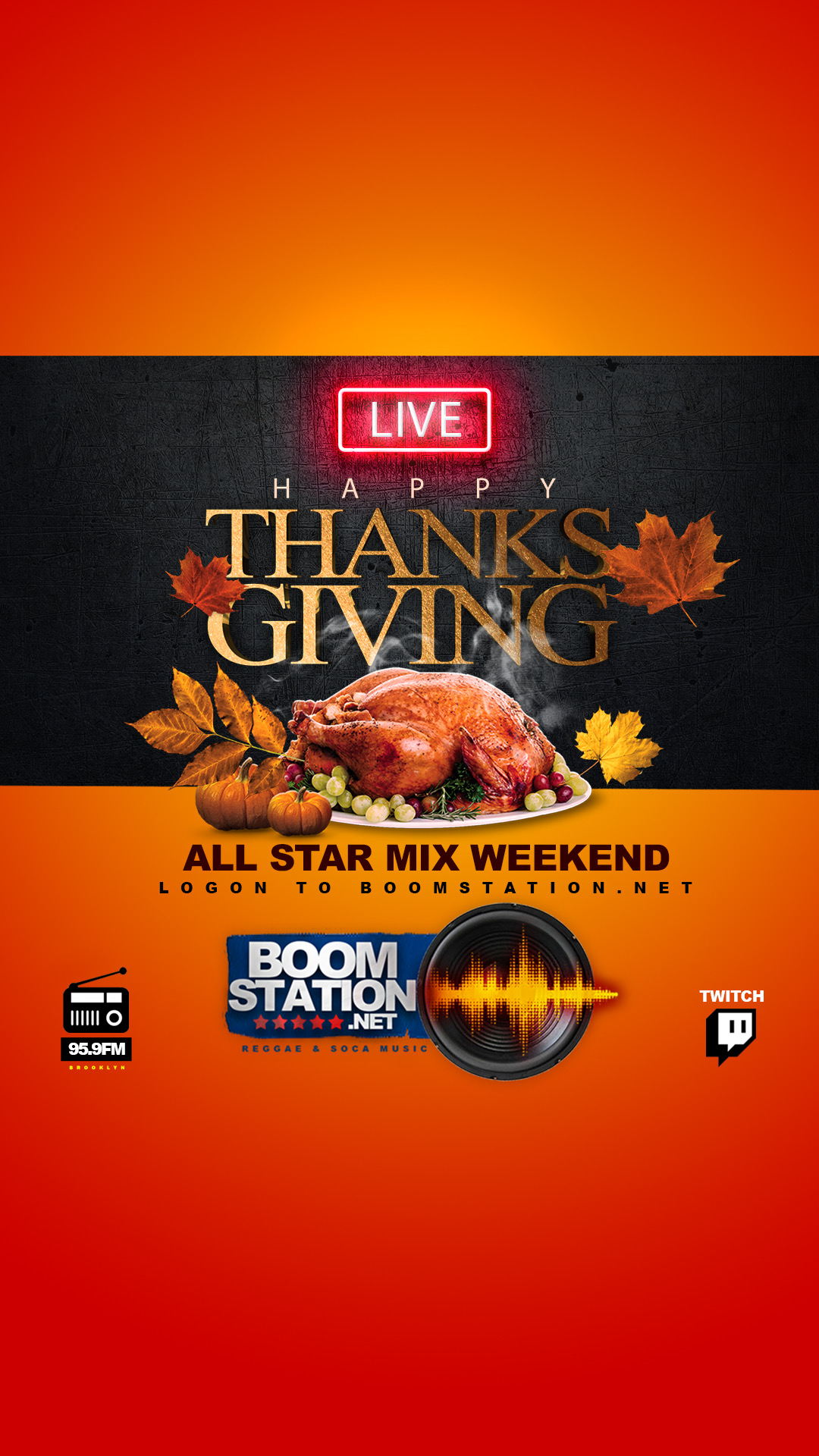 Thanksgiving ALL STAR WEEKEND