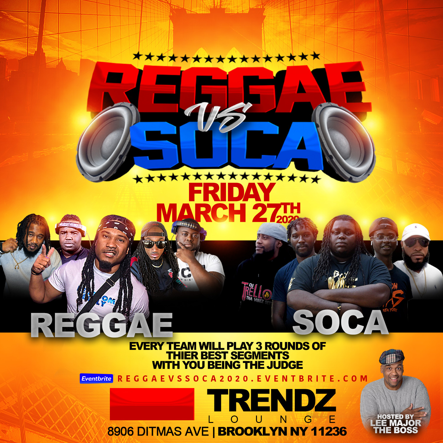 Reggae vs Soca