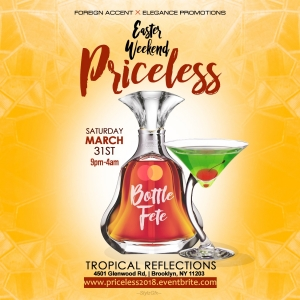 Priceless Bottle Fete