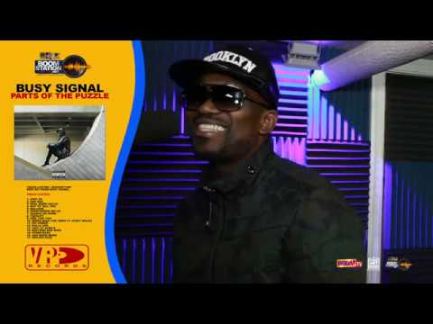 Busy Signal Drop new music Talk's About his Album parts of the puzzle on Boomstation New York